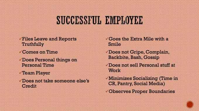 Christ-Centered Employee