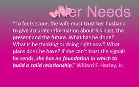 Her Needs